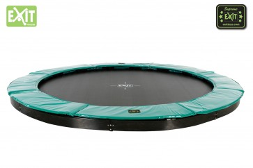Trampolina Inground  Supreme Ground Level 305 EXIT