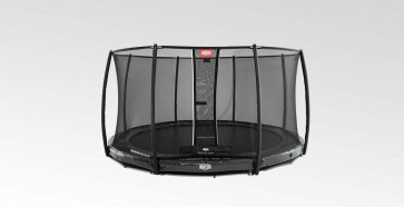 Trampolina BERG InGround Elite+ 430 z siatką T-series zielona