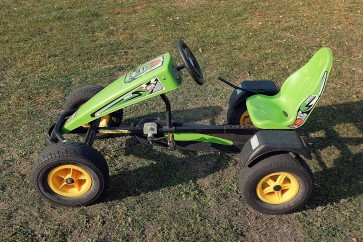 Gokart na pedały BERG Jeep Junior