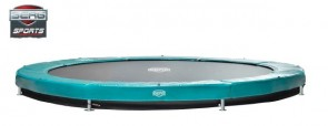 Trampolina BERG Elite+ InGround 330 zielona