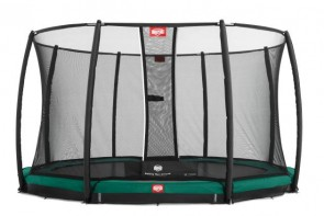 Trampolina BERG InGround Favorit 380 z siatką Deluxe