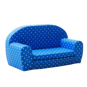 Gepetto Mini Sofa niebieska